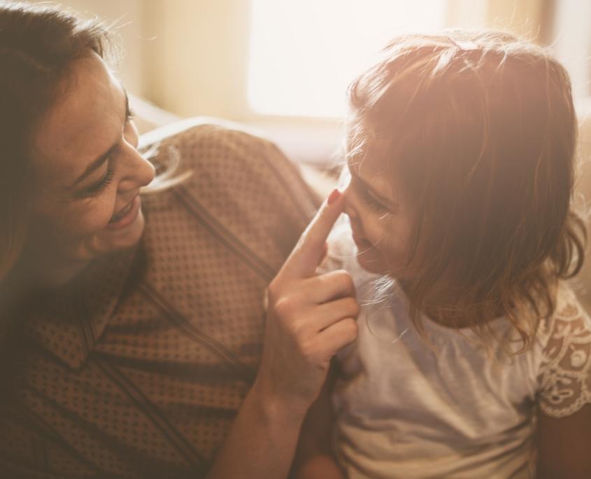 Emapthische Verbindung zwischen Mutter und Tochter