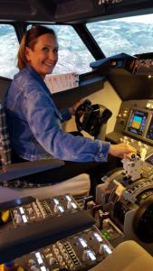 Stefanie Beltz Manager im Cockpit