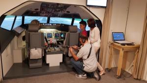 Videodreh und Teamwork zum Seminar Manager im Cockpit
